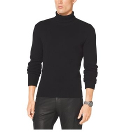 Cashmere Turtleneck Sweater by Michael Kors in Safe House
