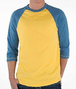 BKE Vintage Raglan T-Shirt by BUCKLE EXCLUSIVE in Million Dollar Arm
