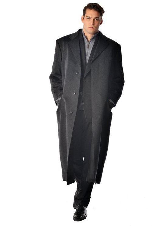 Full Length Overcoat by Cashmere Boutique in John Wick