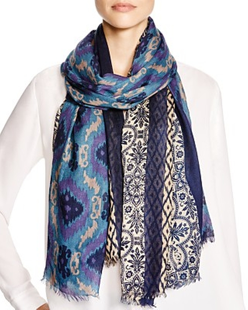 Mix Pattern Wrap Scarf by Saldarini in The Boy