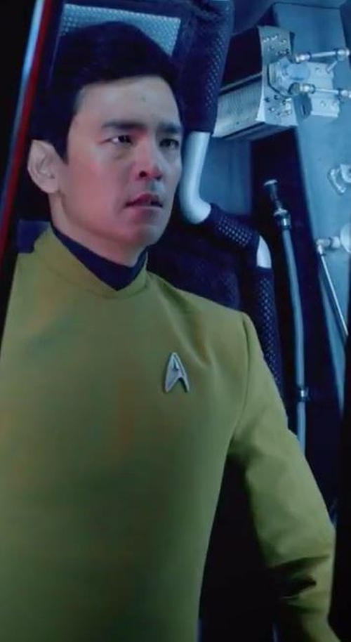 Custom Made Sulu Tunic Uniform by Sanja Milkovic Hays (Costume Designer) in Star Trek Beyond