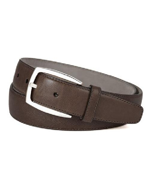 Calf Leather Noblesse Belt by Brioni in Million Dollar Arm