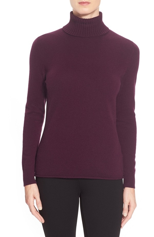 Cashmere Turtleneck Sweater by Lafayette 148 New York in Jessica Jones