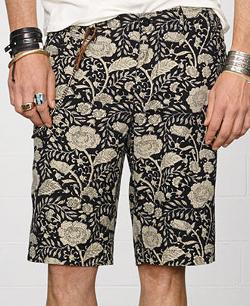 Floral Canvas Shorts by Denim & Supply Ralph Lauren in Couple's Retreat