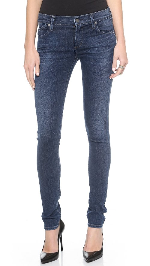 Avedon Skinny Jeans by Citizens of Humanity in If I Stay