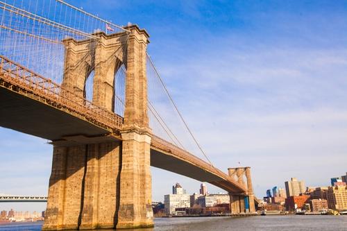 Brooklyn Bridge New York City, New York in Collateral Beauty