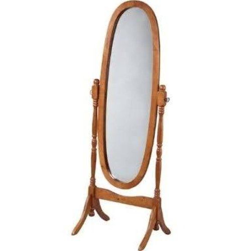 Swivel Full Length Wood Cheval Floor Mirror by Legacy Decor in While We're Young
