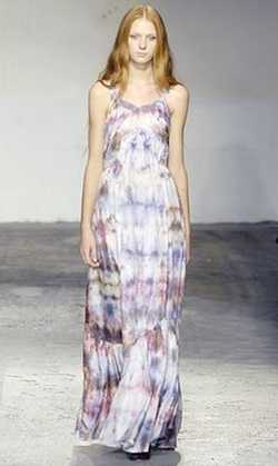 Tie-Dye Print Cotton Dress by Veronique Branquinho in Sex and the City