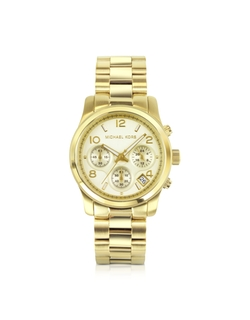 Chronograph Runway Bracelet Watch by Michael Kors in Knock Knock