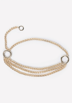 Layered Chain Belt by Bebe in Scream Queens
