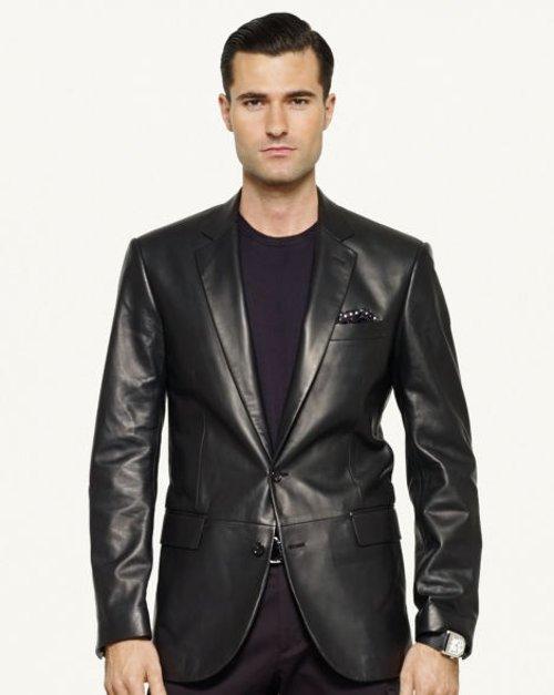 Lambskin Anthony Sport Coat by Ralph Lauren in Top Five