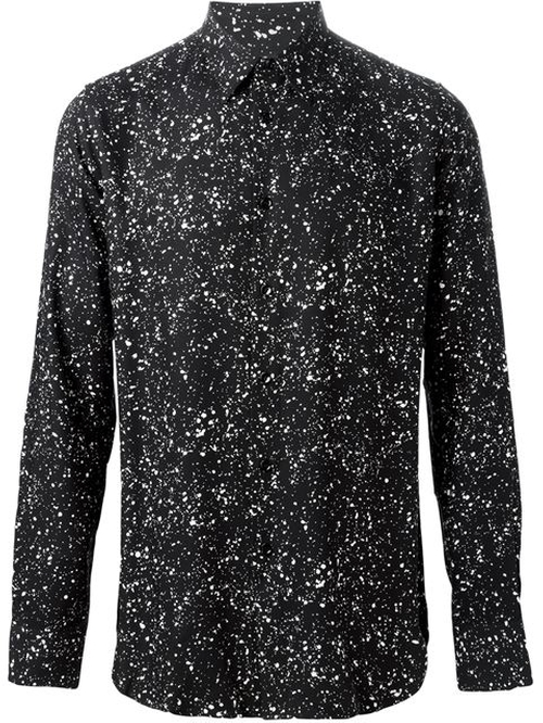Paint Splatter Shirt by Saint Laurent in Empire - Season 2 Episode 10