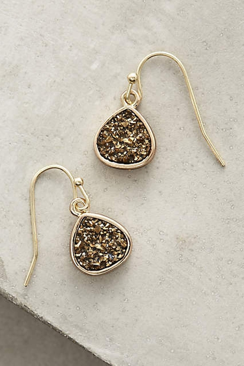 Dollop Drops Earrings by Anthropologie in Arrow - Season 4 Episode 9