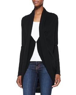 Draped Knit Circle Cardigan by Alice + Olivia in Little Fockers