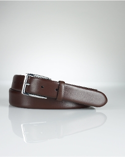 Douglas Calfskin Buckle Belt by Ralph Lauren in Fast Five