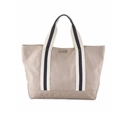 Bahamas Canvas Beach Tote Bag by Heidi Klein in Will & Grace