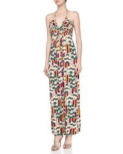 Braided Halter Maxi Dress by T Bags in Hall Pass