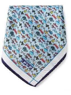 Airplanes Print Pocket Square by Fefè in Pitch Perfect 2