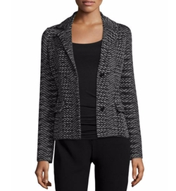 Space-Dye Two-Button Blazer by M Missoni in The Good Wife