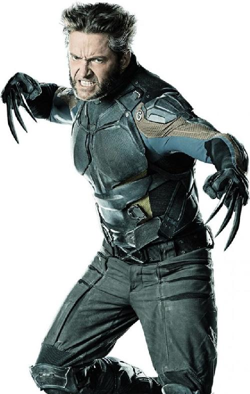 Custom Made Logan / Wolverine Costume by Louise Mingenbach (Costume Designer) in X-Men: Days of Future Past