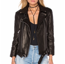 Moto Leather Jacket by Anine Bing in Keeping Up With The Kardashians