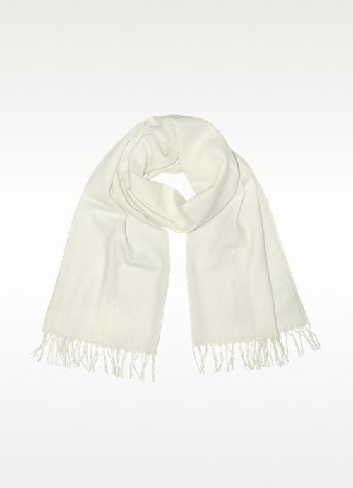 Fringed Solid Wool And Cashmere Pashmina by COVERI COLLECTION in Dawn of the Planet of the Apes