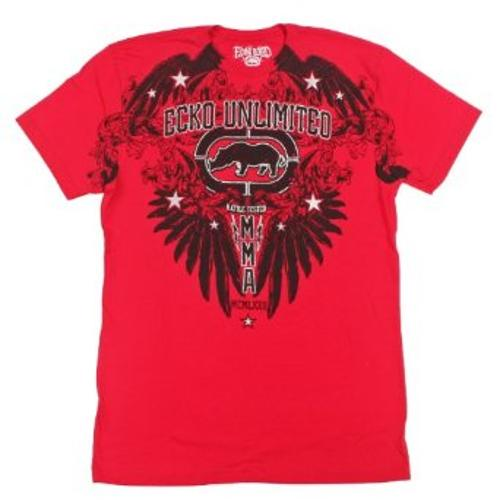 MMA Men's Crows Nest Short Sleeve Tee by ecko unltd. in Sabotage