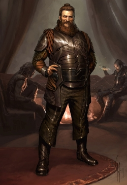 Custom Made 'Volstagg' Costume by Alexandra Byrne (Costume Designer) in Thor
