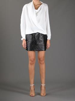 Draped Blouse by Lanvin in Addicted