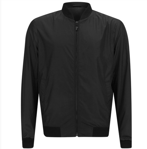 Men's Bomber Jacket by Versace Collection in Black Mass