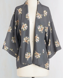 It Had To Be Mew Kimono by Bea & Dot in Fuller House