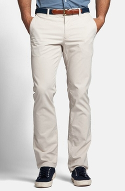 Slim Fit Washed Cotton Chinos by Bonobos in My All American