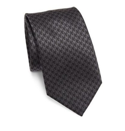 Jacquard Printed Silk Tie by Brioni in The Blacklist