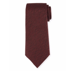 Melange Silk Tie by Armani Collezioni in House of Cards