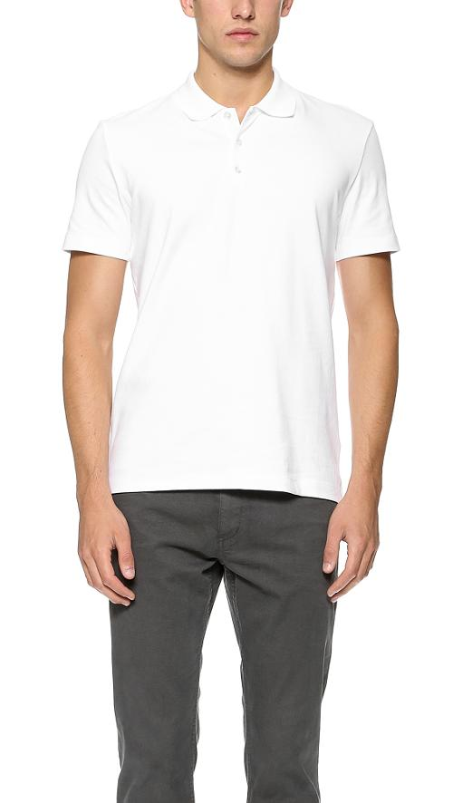 Boyd Polo Shirt by Theory in Interstellar