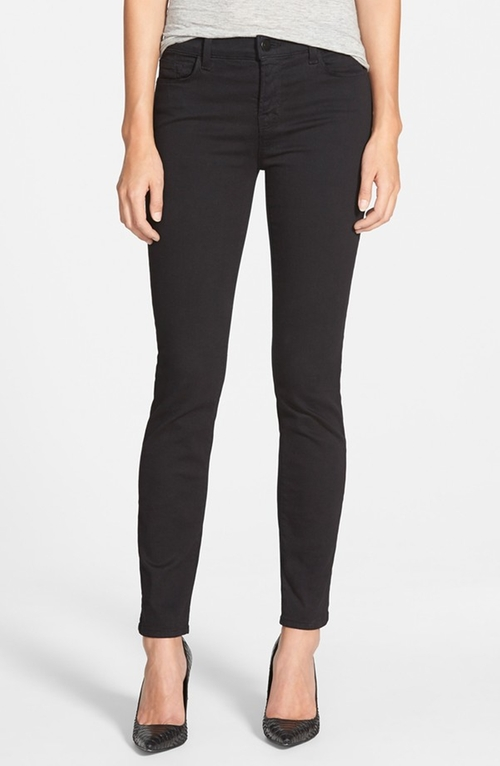 '811' Mid Rise Skinny Jeans by J Brand in Pretty Little Liars - Season 6 Episode 9