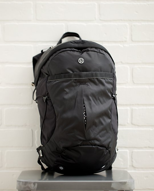 Run All Day Backpack by Lululemon in Barely Lethal