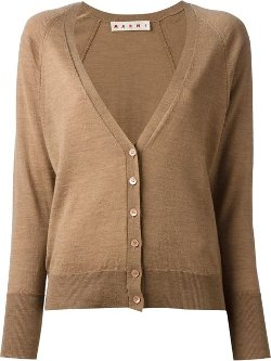 V-Neck Cardigan by Marni in The Boy Next Door