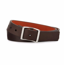 Reversible Leather Belt by Shinola in Stranger Things