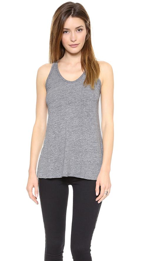 Heather Racer Tank by Stateside in New Year's Eve