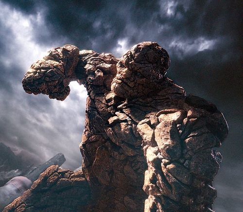 Ben Grimm / The Thing (Jamie Bell) by Zachary Berger (Concept Designer) in Fantastic Four