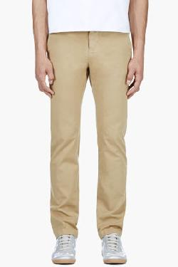 KHAKI CHINO PANT by BAND OF OUTSIDERS in Million Dollar Arm