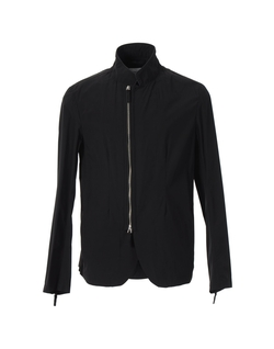 Mandarin Collar Zip Jacket by Armani Collezioni in The Hunger Games: Mockingjay - Part 2