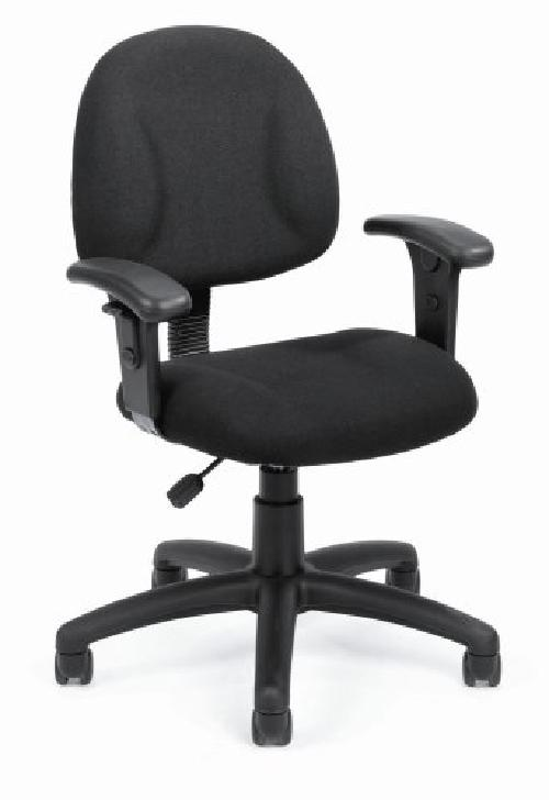 Deluxe Posture Chair with Adjustable Arms by Boss in Neighbors