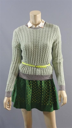 Cable Knit Sweater by Zara in Me Before You