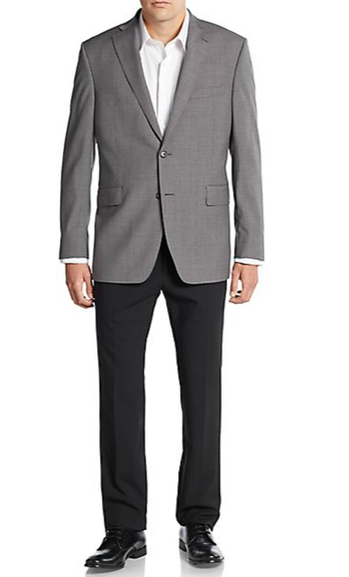 Two-Button Wool Sportcoat by Saks Fifth Avenue in The Walk