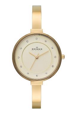 Gitte Crystal Index Bangle Bracelet Watch by Skagen in Dolphin Tale 2