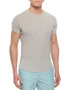 Crewneck T-Shirt by Theory in The Bourne Legacy