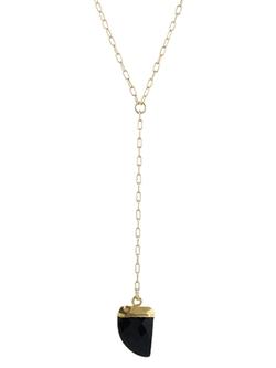 Mini Tusk Necklace by Peggy Li in Pretty Little Liars