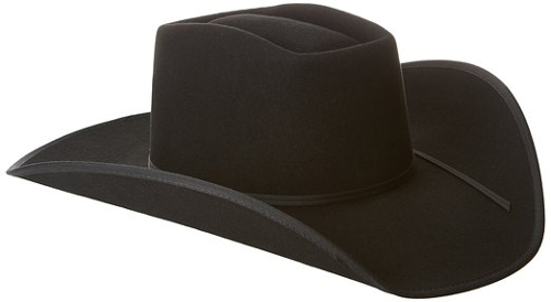 Chocolate Felt Cowboy Hat by Tony Lama in Cut Bank